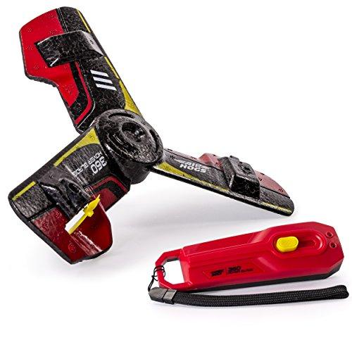 Spinmaster 6026324 - Air Hogs - 360 Hoverblade - Ferngesteuerter Bumerang - Rot [UK Import]