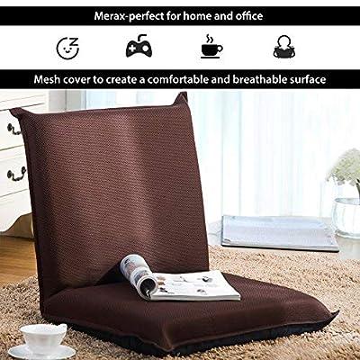 Floor Sofa Bed Foldable Sleeper Chair Padded Ga...