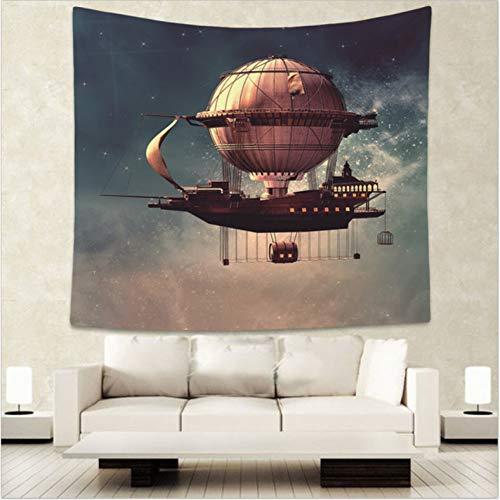 ZWBBO Tapijten Eden-hemel in de wolkentapisserie Hippiemandala Wandtapijt Deken Bohemen Slaapkamer Decoratie Tapijten (150x200cm)