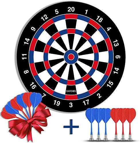 DARDOS Magnetic Dart Board Boys Popular Indoor Safe Games Gifts for Kids and Adults Indoor Toys Easy to Set Up, Magnetic