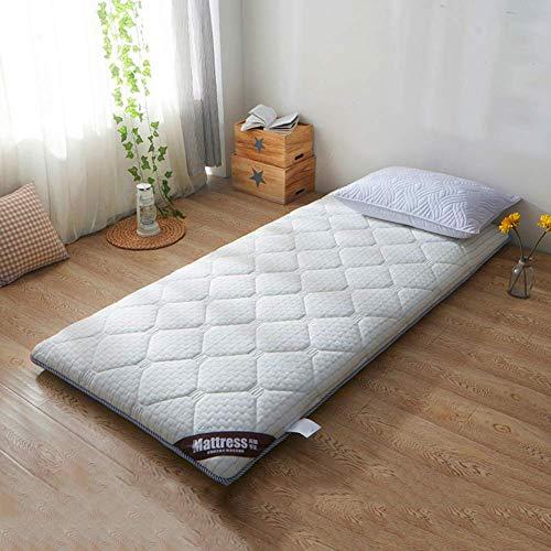 JY&WIN Tatami Mattress Topper,Thick Breathable Reversible Memory foam Mattress Pad Japanese Foldable Student Dorm Floor Mat-B 120x200x10cm