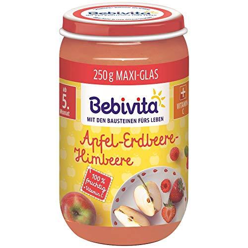 Bebivita Früchte Apfel-Erdbeere-Himbeere, 250 g