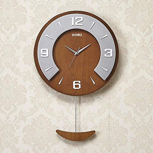 Wanduhr Moderne Große Wanduhr Nordic Design Silent Vintage Wanduhr Wohnzimmer Pendeluhr Wand Home Decor 52.5X34Cm Style1
