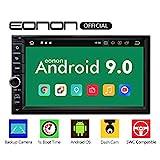 eonon GA2176 Android 9 7' LCD Touchscreen Indash Double DIN Autoradio 2GB RAM 32GB ROM Quad-Core GPS FM RDS USB Headunit Support WiFi Bluetooth 5.0 4G Universal Navigation (NO DVD)