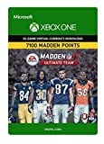 Madden NFL 17: MUT 7100 Madden Points Pack - Xbox One Digital Code
