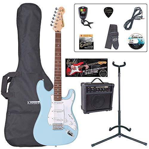 Encore EBP-E6LB E6 Blaster E-Gitarren-Set hellblau