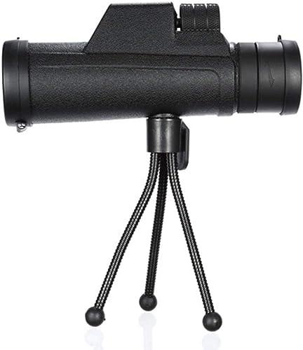 HOUYAZHAN Télescope d'observation de Vision Nocturne monoculaire Haute Vision monoculaire 10x30 HD pour Une Utilisation en extérieur