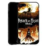 Coque pour iPhone 7 Plus, iPhone 8 Plus, coque ultrafine en TPU noir pour iPhone 7/8 Plus, style 01