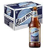 Blue Moon, Cerveza Artesanal de Estilo Belgian White - 24 Botellas de 330 ml - Total: 7920 ml