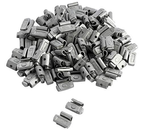 DWT-Germany 100712 100 Stück 10g Schlaggewichte Auswuchtgewichte Wuchtgewichte Für Stahlfelgen Aus Stahl Verzinkt