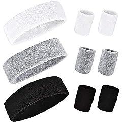 Wilxaw 9 Stück Stirnband Armband