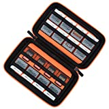 Game Card Storage Holder Hard Case for New Nintendo 3DS, 2DS XL, DS and Nintendo Switch or PS Vita or SD...