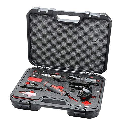 LHQ-HQ Tragbare Practica Pneumatik Pneumatik 5-in-1-Werkzeug-Set, pneumatische Graviermaschine/Winkelschleifer Set/Ratschenschlüssel Handwerkzeuge Industrie