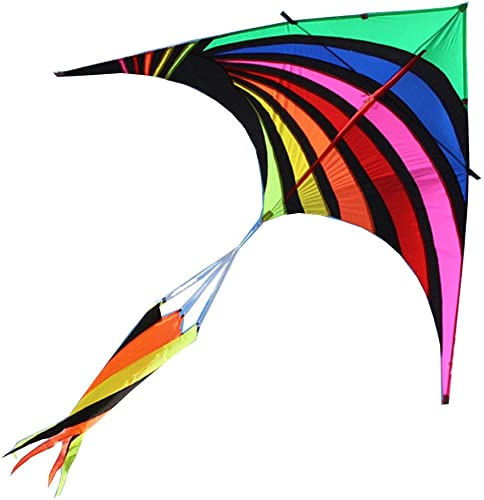 ventas calientes Cometas Caixia Coloridas Coloridas Coloridas triángulos, Brisa, Paraguas fáciles de Volar, Grandes, triángulos rojoondos ( Talla   520m Line )  tienda en linea