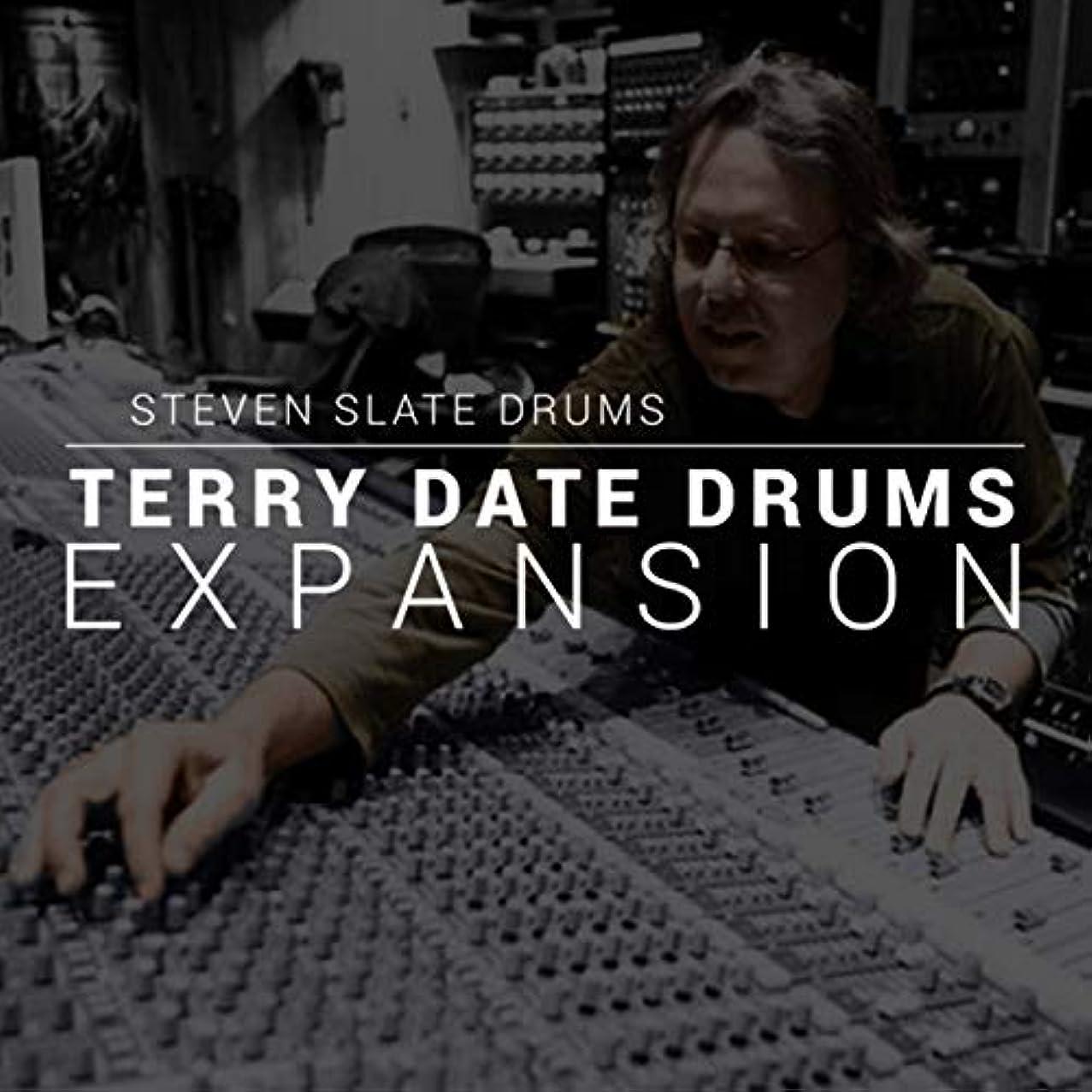 吸う誘う貢献【国内正規品】STEVEN SLATE DRUMS Terry Date Drums EXPANSION (SSD5専用拡張音源:簡易パッケージ版)