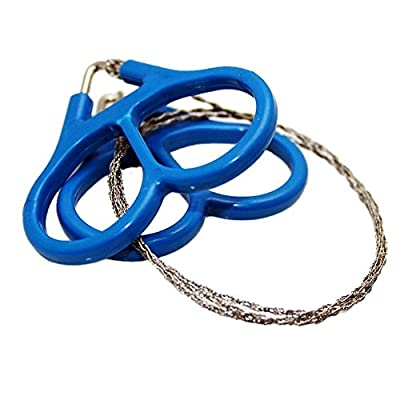Science Purchase Mini Stainless Steel Wire Saw Emergency Camping Hunting Survival Tool Chain