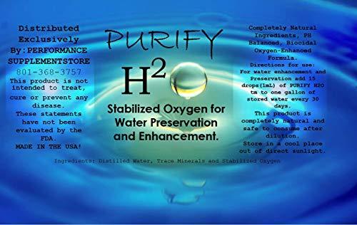 Purify H2O Water Purification Treats 110 Gallons