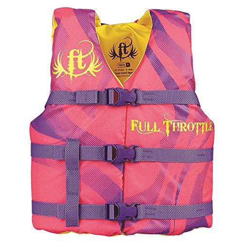 Full Throttle Youth Character Vest, Pink