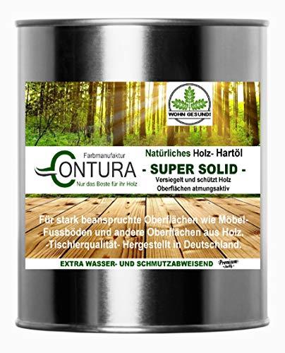 Holzschutz Holzöl NATUR HARTÖL Möbelöl Pflegeöl Holz- Möbel- Öl Arbeitsplattenöl 750ml.