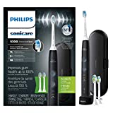 Philips Sonicare ProtectiveClean 5300 Gum Health Rechargeable Electric Toothbrush, HX6423/34, Black