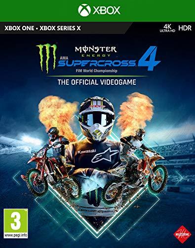 Monster Energy Supercross - The Official Videogame 4 - Xbox One [Importación francesa]