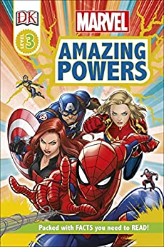 Marvel Amazing Powers (DK Readers Level 3) by [Catherine Saunders, DK]
