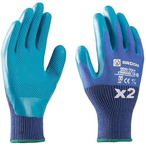 Guantes de trabajo - ecológicos, seguros para las manos, antideslizantes, bio guantes...