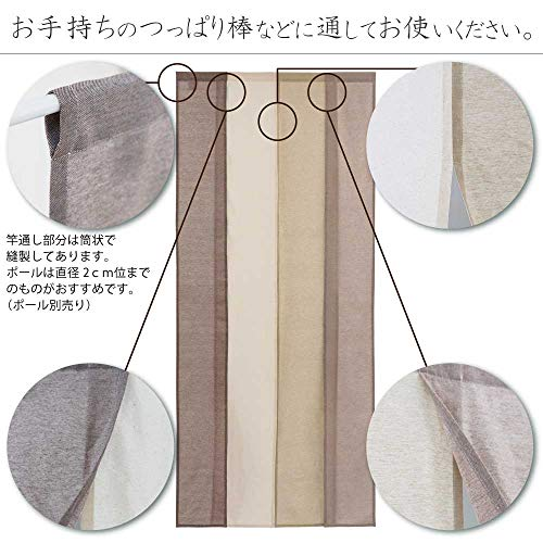Sunnydayfabric『セーヌ4連のれん』