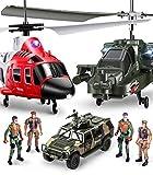 SYMA Helicóptero teledirigido S109G S111G 2 en 1, juego de avión, mando a distancia, juguete para niños a partir de 5 años