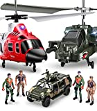 SYMA Hubschrauber ferngesteuert S109G S111G RC Helikopter 2 in 1 Set Flugzeug Funkfernbedienung...