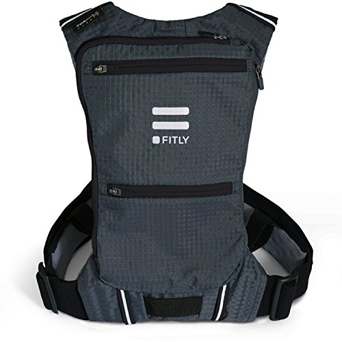 Fitly Minimalist Running Pack (Noir, XS-S)