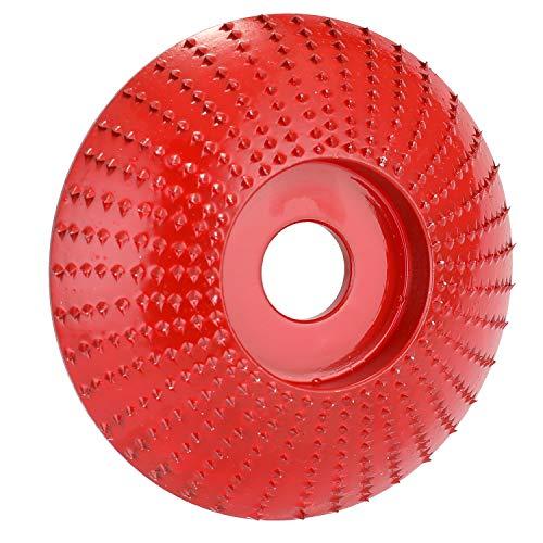 KKmoon NO.45 Schuurschijf voor rotatieslijper voor haakse slijpers van hout van staal voor haakse slijpers met boring van 16 mm Rood