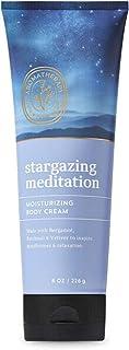 Bath and Body Works Body Care Aromatherapy Moisturizing Body Cream w/Essential Oils - 8 oz Many Scents (Stargazing Meditat...