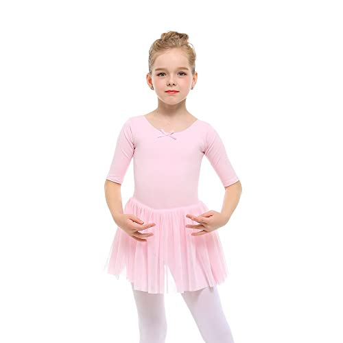 afe92f0ff STELLE Toddler/Girls Cute Tutu Dress Leotard for Dance, Gymnastics and  Ballet