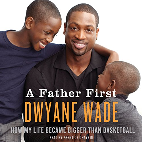 A Father First audiobook cover art