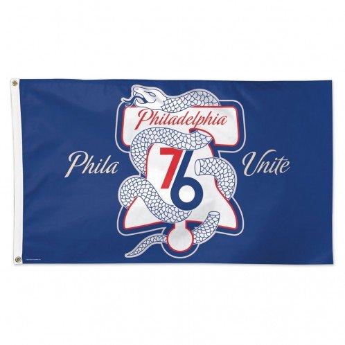 WinCraft Philadelphia 76ers NBA American Flag 3 x 5 Foot - Phila Unite Flag