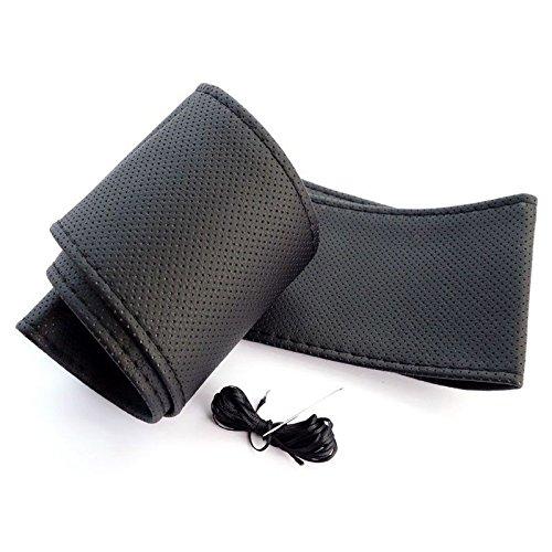Housse de Volant Noir 100% Cuir PU 37 cm de 39 cm