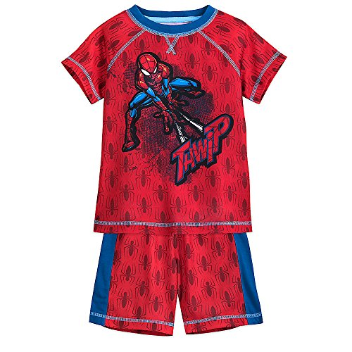 Marvel Spider-Man Shorts Sleep Set for Boys Size 5/6