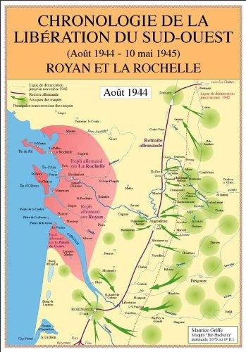 Chronologie de la libération du Sud-Ouest, août 1944-10 mai 1945 : Royan et La Rochelle