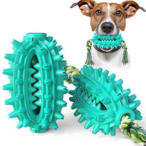 PewinGo Cepillo de Dientes para Perros Masticables Ultraduradero Juguetes para Masticar Resistentes ,Juguetes Interactivos para Masticar Perros para Agresivos