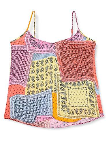 ESPRIT Damen 050EE1F320 Bluse, 648/CORAL 4, 42