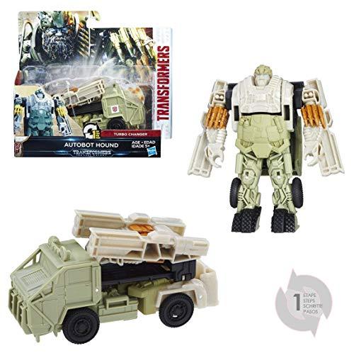 Transformers - Figura Autobot Hound, Un Paso mágico (Hasbro C1314ES0)