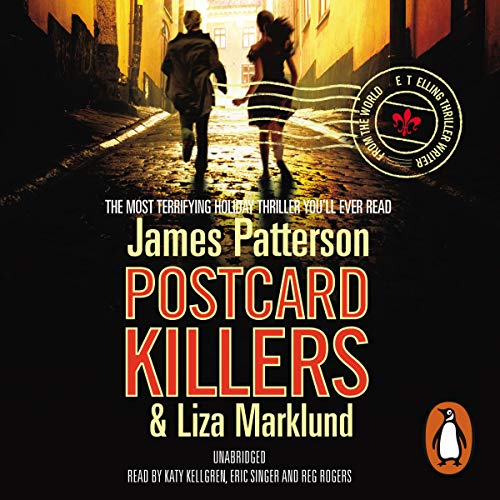 Postcard Killers audiobook cover art