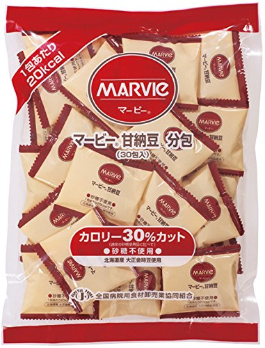 マービー甘納豆 分包 9g×30包