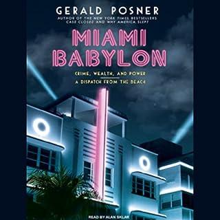 Miami Babylon audiobook cover art