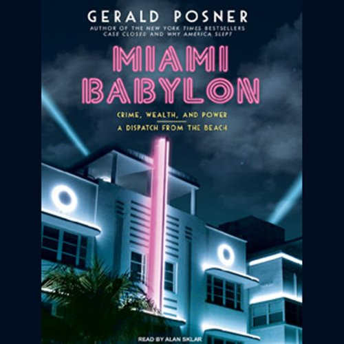 Miami Babylon audiobook cover art
