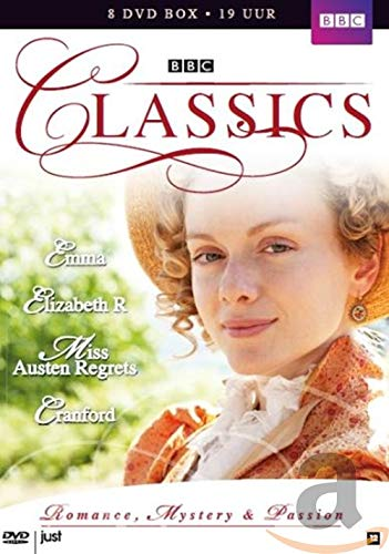 BBC Classics Collection 4, Vol.9 - Four TV Mini-Series: Emma/ Elizabeth R. / Miss Austen Regrets / Cranford [Import]