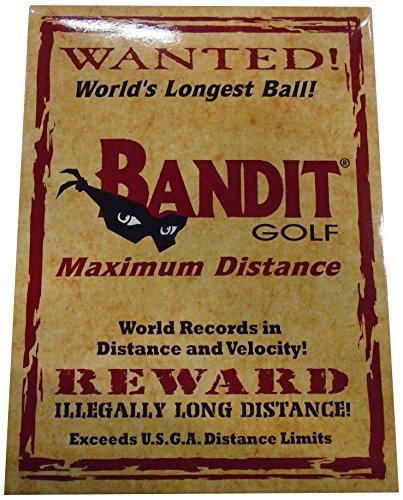 Bandit Non Conforming Illegal Maximum Distance Golf Balls 1...