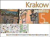 Krakow PopOut Map: Handy pocket-size pop up city map of Krakow (PopOut Maps)