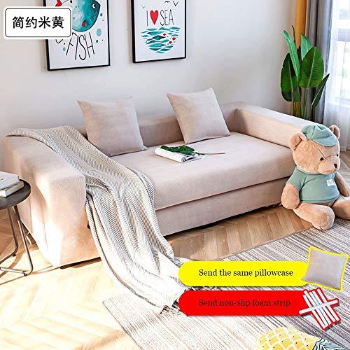 Lunana stoelovertrek, rekbaar, sofaovertrek, elastisch, voor bank, bescherming van meubels, polyester, spandex - 1/2/3-zits